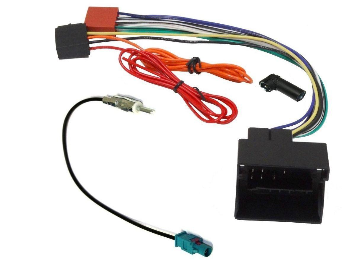 kit adaptateurs iso autoradio antenne audi seat skoda vw bora ap02 kitcab24 305490. Black Bedroom Furniture Sets. Home Design Ideas