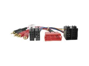 cable adaptateur autoradio 20 pin mini iso rca pour audi rah3221 85864. Black Bedroom Furniture Sets. Home Design Ideas