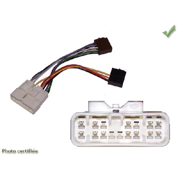 Fiches ISO Autoradio ISUZU D-MAX TROOPER OPEL COMPO >ISO 4HP - RAC1902 [Voiture : Isuzu > D-Max] [Vo