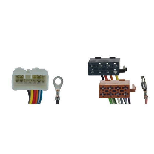 Fiches ISO Autoradio- Subaru Justy ap96/ Suzuki Vitara av04/ Gd Vitara av03/ Baleno/ Wagon R/ Alto/