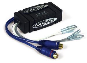 Filtres Audio & DSP Caliber - LT3F - Adaptateur Haute-puissance des lignes Haut-parleurs - Transforme les sorties HP en RCA Femelle