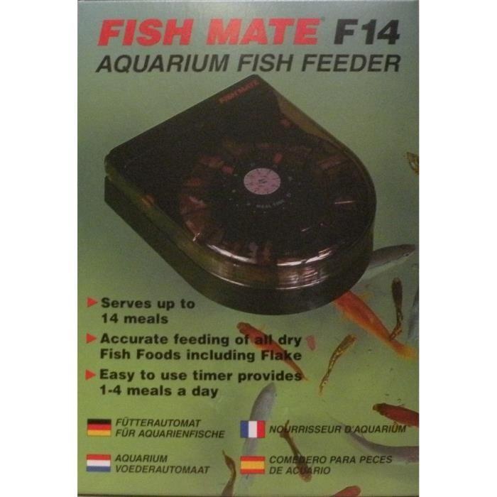 Fish mate fish mate distributeur d 39 aliments pour for Distributeur aliment poisson