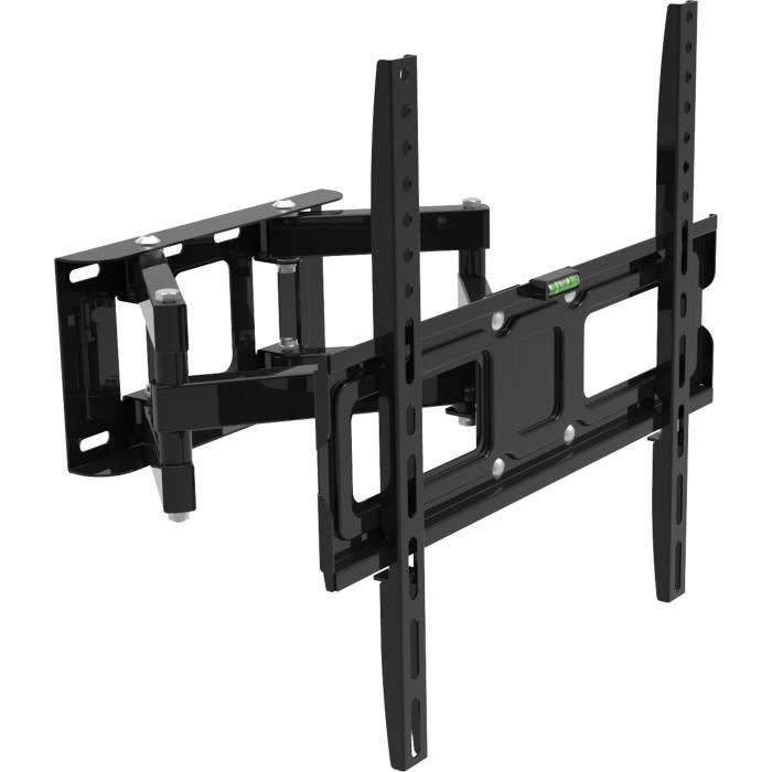 Fixation support tv support mural pour tv mid - Support tv mural orientable et inclinable ...