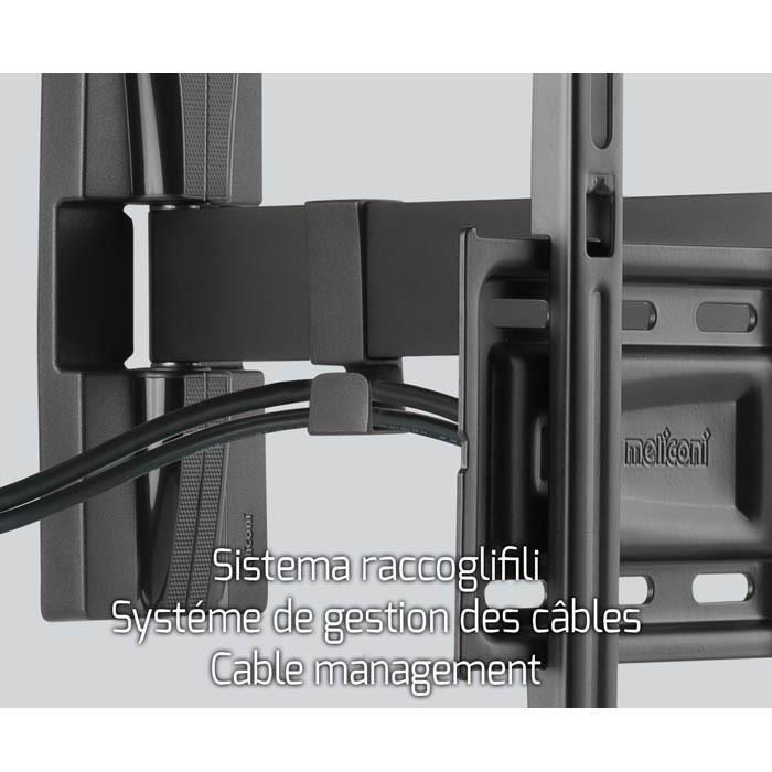Meliconi meliconi 400 sr support tv mural orientable for Meliconi support tv