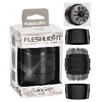 FleshLight - Masturbateur Quickshot Boost - Gris - Taille 8.8cm