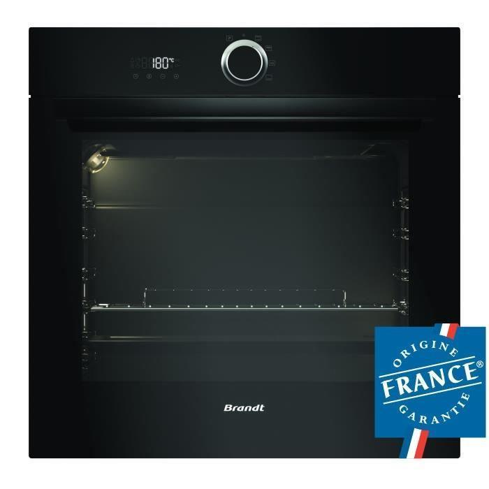 Brandt bxp5132b four a convection naturelle pyrolyse 405612 - Four convection naturelle ...