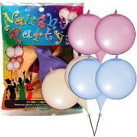 Gadget et Humour LRDP - 6 ballons en forme de seins