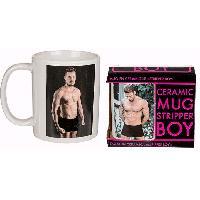 Gadget et Humour LRDP - Mug Stripteaseur
