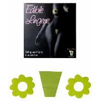 Gadget et Humour Secret Play - Dessous comestibles saveur Caipirinha - Vert