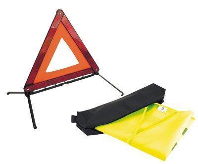 kit de securite routiere obligatoire a partir du 1er juillet 2008 1 gilet 1 triangle 60058. Black Bedroom Furniture Sets. Home Design Ideas