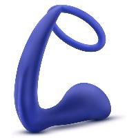 Godes & Plugs Anal Blush Novelties - Cockring et Gode Anal Performance 9cm - D4cm Violet