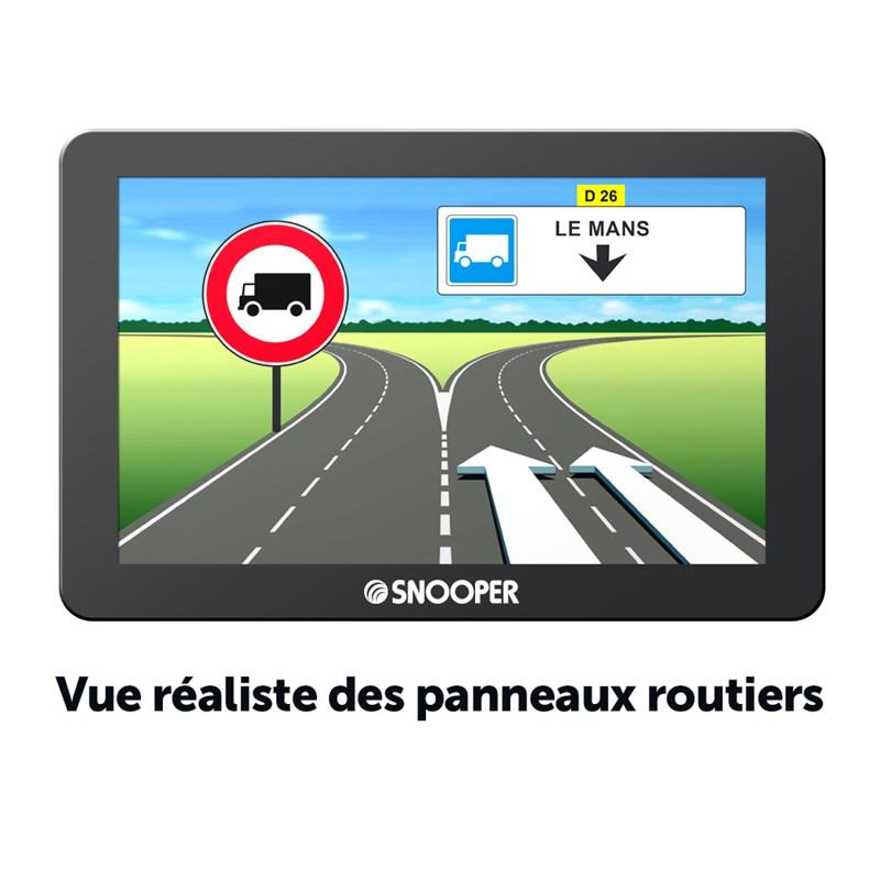 gps portables tomtom snooper gps poids lourds sno. Black Bedroom Furniture Sets. Home Design Ideas