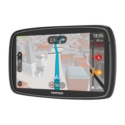 tomtom go 6100 gps 6 monde cartes et trafic gratuits a vie bluetooth zones de dangers. Black Bedroom Furniture Sets. Home Design Ideas