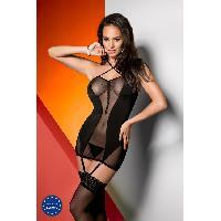 Guepiere, corset Avanua - Corsage et String Arietta - L-XL