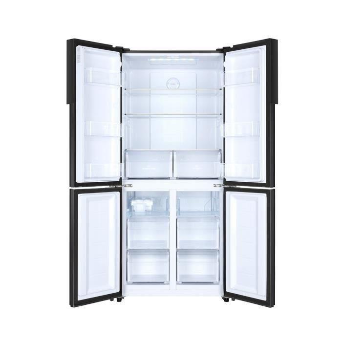 Haier haier htf 456dn6 refrigerateur multi portes tota - Refrigerateur congelateur tiroir haier ...