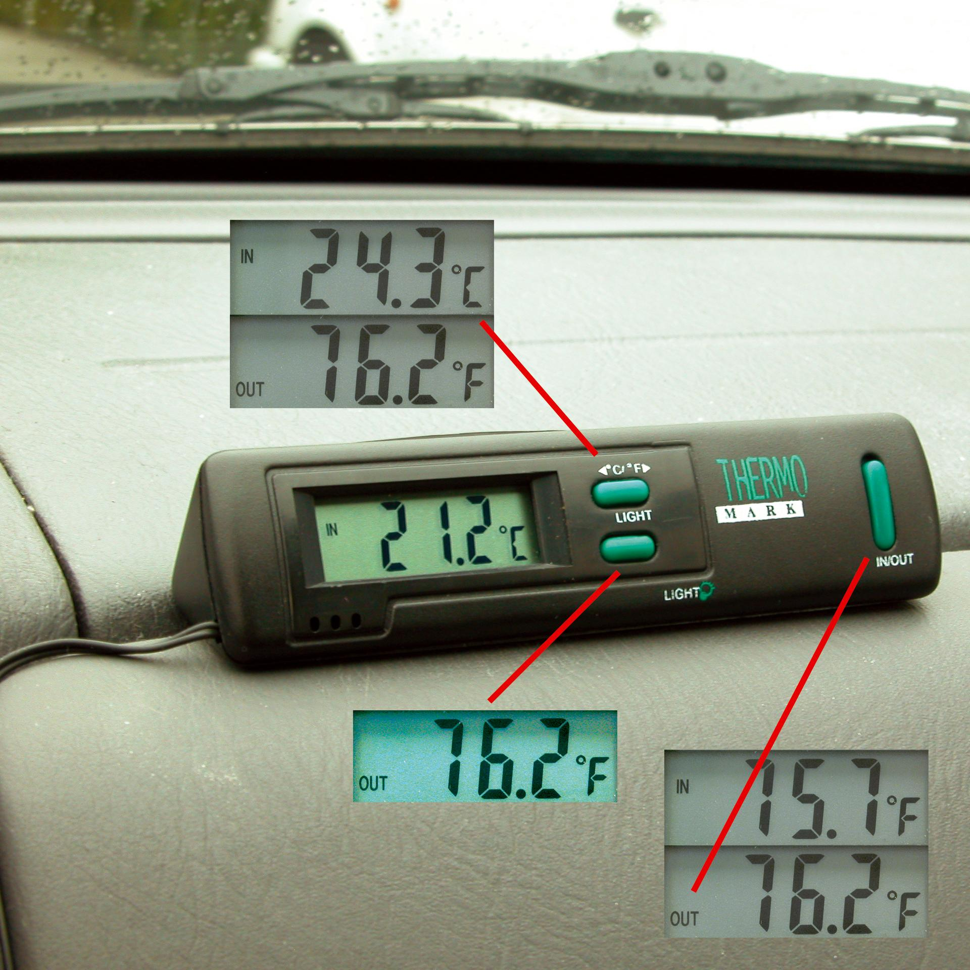 Horloges et thermometres adnauto thermo int ext for Thermometres exterieurs