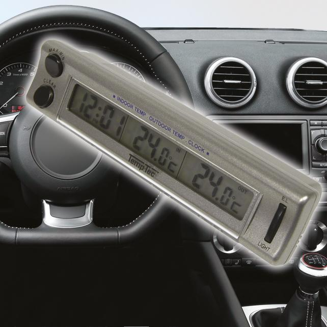 Horloges et thermometres adnautomid inter exter horloge for Thermometre exterieur voiture