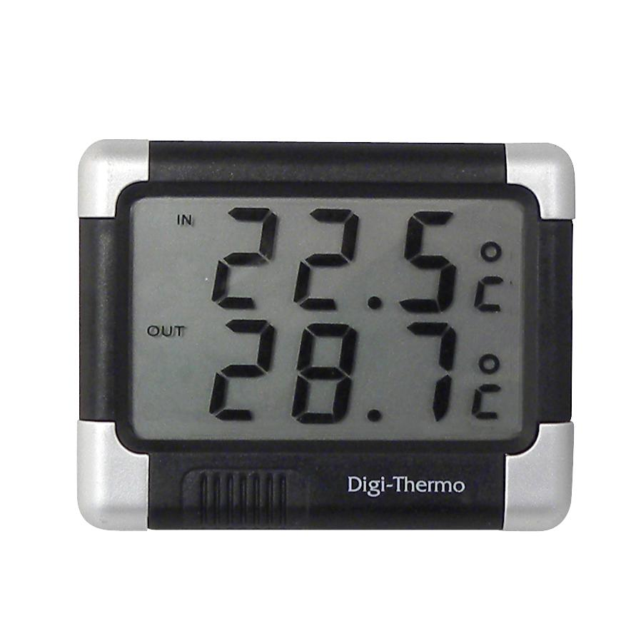 Horloges et thermometres adnautomid thermom tre int ri for Thermometres exterieurs