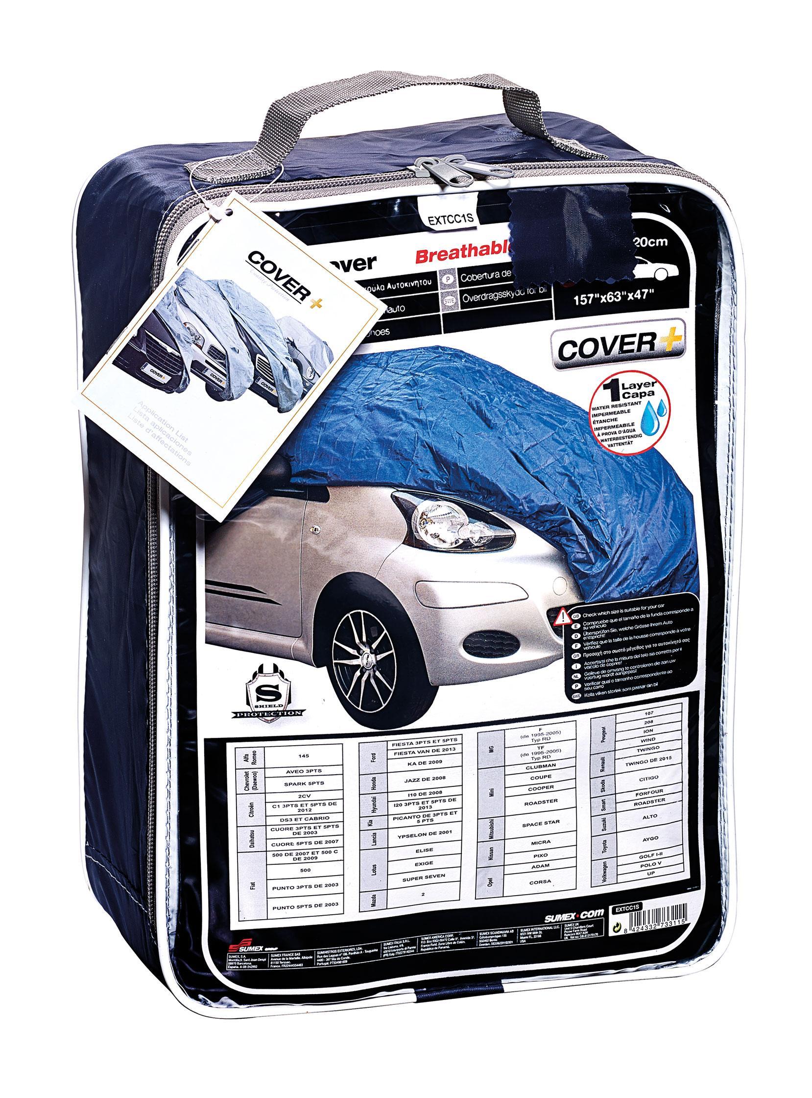 Housses de protection adnauto housse de voiture ta 275497 for Housse protection voiture