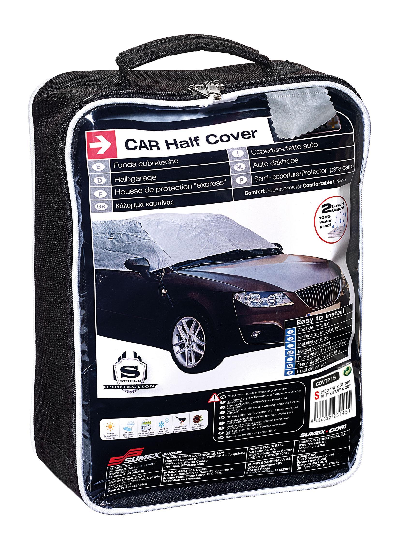 Housses de protection adnauto semi housse de voitu for Housse protection voiture