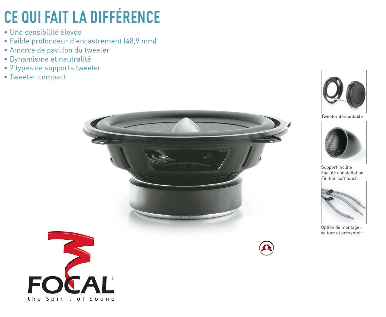 hp focal focal integration iss 130. Black Bedroom Furniture Sets. Home Design Ideas