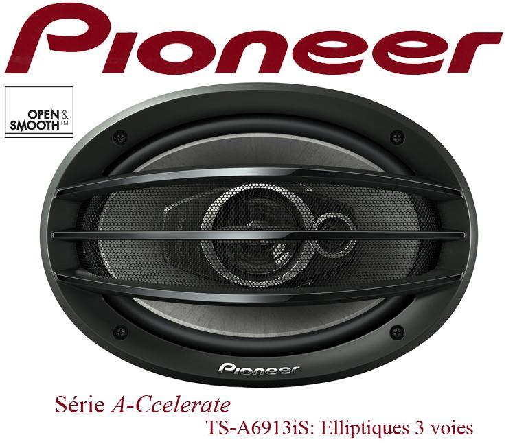haut parleur pioneer ts a6913is 2 haut parleurs 3 voies elliptiques 16x23cm 121653. Black Bedroom Furniture Sets. Home Design Ideas