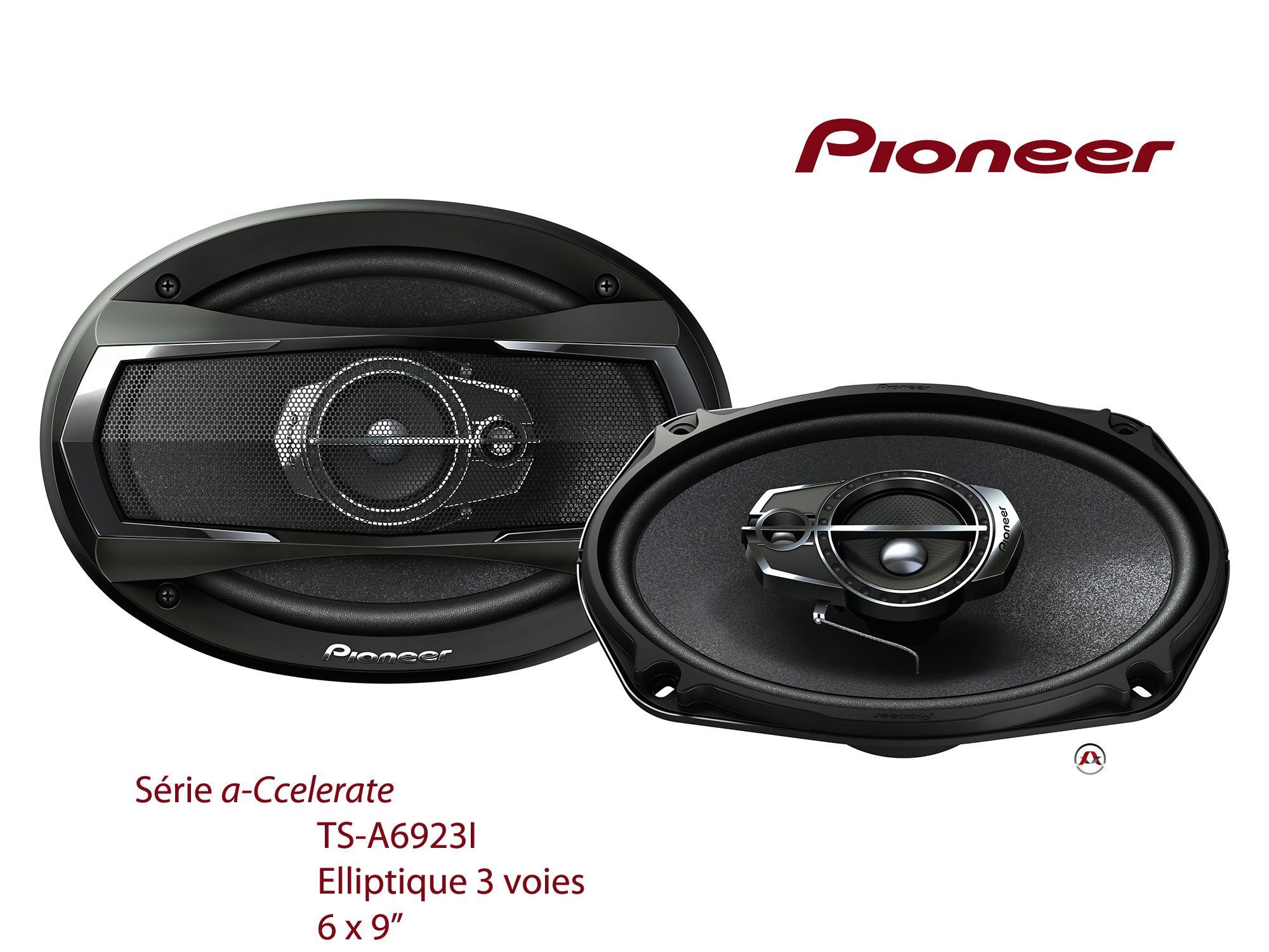 haut parleurs pioneer pioneer ts a6923i 60w rms. Black Bedroom Furniture Sets. Home Design Ideas