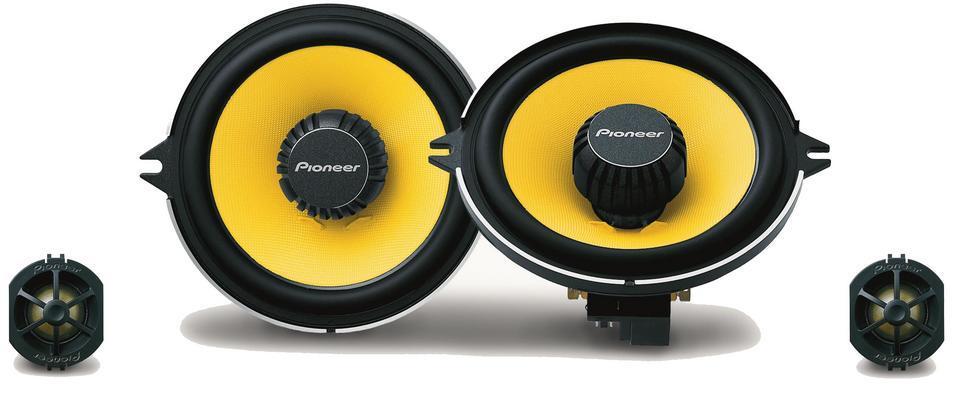 haut parleur pioneer ts q131c 2 haut parleurs 2 voies separees 13cm. Black Bedroom Furniture Sets. Home Design Ideas