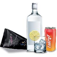 Huile de massage LRDP - Berlingot Huile corporelle Gourmande Vodka Energy Drink - 10 ml