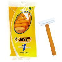 Hygiene LRDP - 5 Rasoirs BIC jetables - 1 lame
