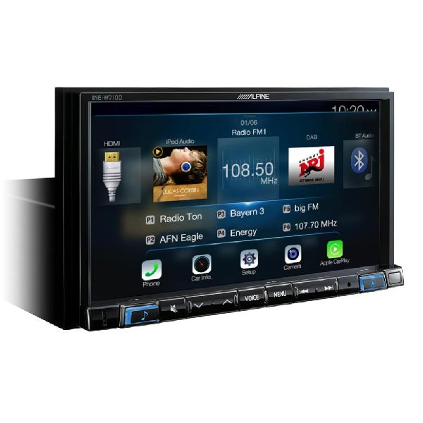 INE-W710D Systeme navigation 7p Apple Carplay/ Android auto/ GPS/ TomTom