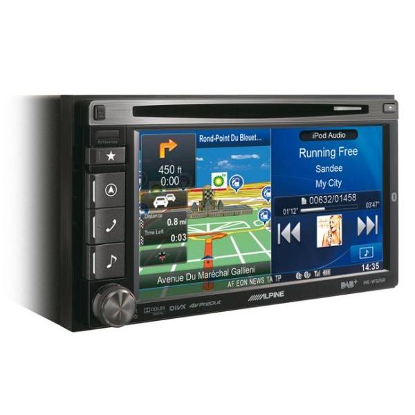 INE-W925R - Station GPS multimedia DVD/CD - DAB/DMB - Bluetooth - USB/iPod - iPhone/Nokia/Android - Ecran 6.1p - Navigation