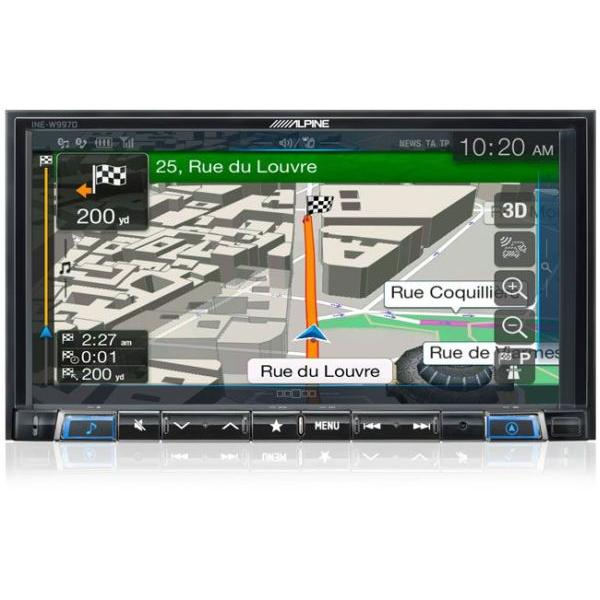 INE-W997D - Station GPS multimedia - Bluetooth - USB/iPod/Tuner - iPhone/Nokia - Ecran 7p - Navigation