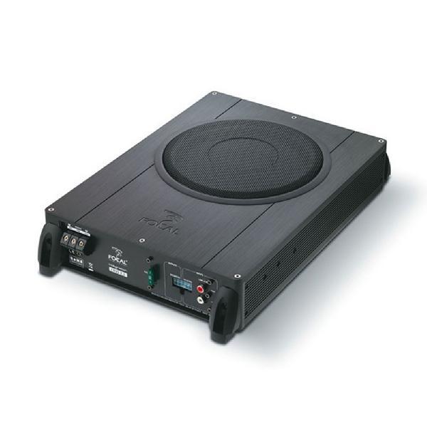 Integration IBus 2.1 - Caisson plat - Systeme 2.1 - SubWoofer 20cm - 75W RMS - Cables inclus