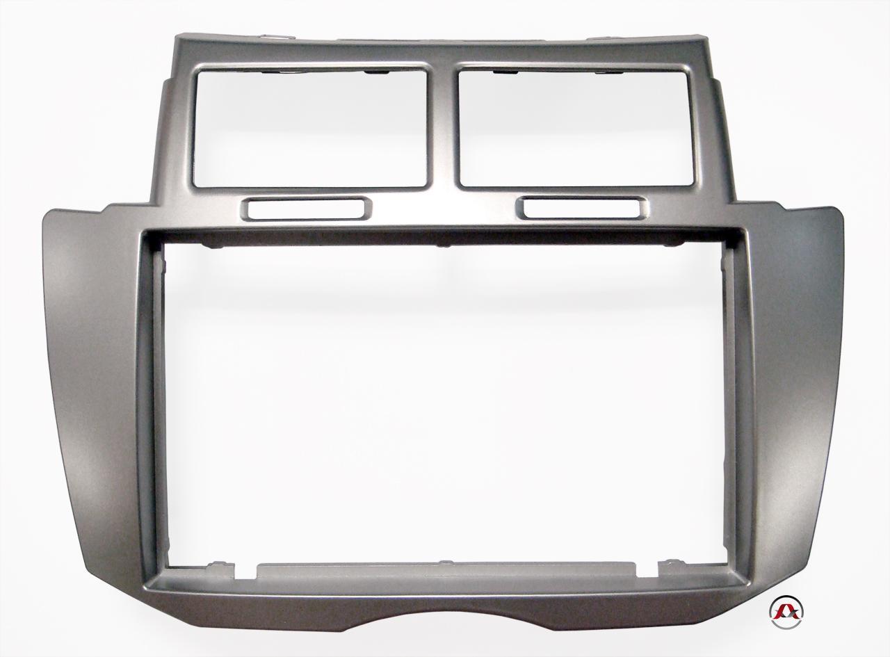 autoradio facade et supports toyota adnauto 2din yaris ap09. Black Bedroom Furniture Sets. Home Design Ideas