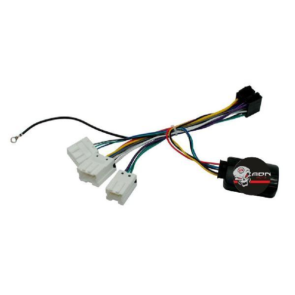 Interface Commande au volant NS016J Nissan ap01 JVC [Voiture : Nissan > 350 Z (03-09)] [Voiture : Nissan > Navara 3 (D40 - 04-17)] [Voiture : Nissan > X-Trail > X-Trail 1 (01-07)]