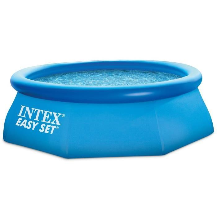 Intex intex easy set piscine ronde autostable x 0 for Piscine autostable