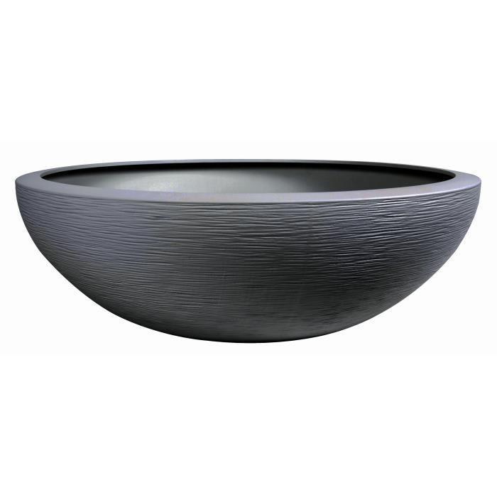 Eda - Pot vasque Graphit Ø59cm - Contenance 39L - Gris anthracite 438912