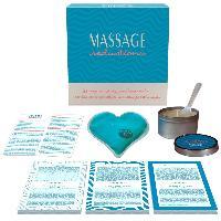 Jeux coquins Kheper Games - Coffret Jeu Massage Seductions Bleu