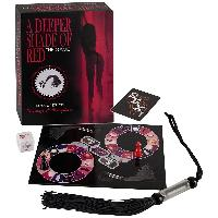 Jeux coquins Kheper Games - Jeu A Deeper Shade of Red avec accessoires