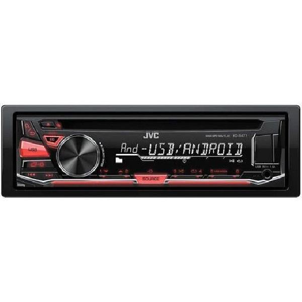 KD-R471 - Autoradio CD/MP3/WMA/RDS/Android - USB et AUX en facade - sans telecommande