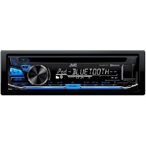 KD-R871BT - Autoradio CD/MP3/WMA/iPod/iPhone - Bluetooth - USB et AUX en facade - Bleu
