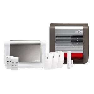 diagral pack alarme maison sans fil gsm les remarquables diag07bsf 391354. Black Bedroom Furniture Sets. Home Design Ideas