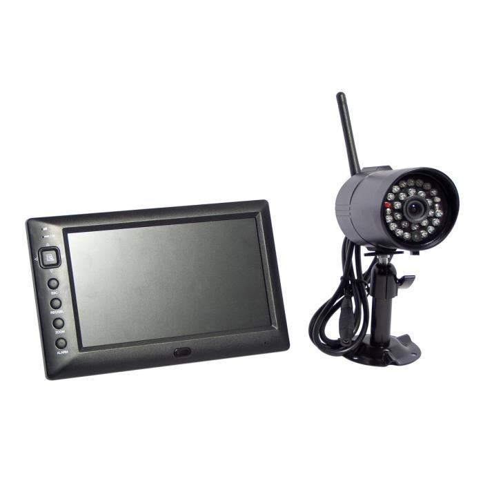kit camera de surveillance pack videosurveillance mid. Black Bedroom Furniture Sets. Home Design Ideas