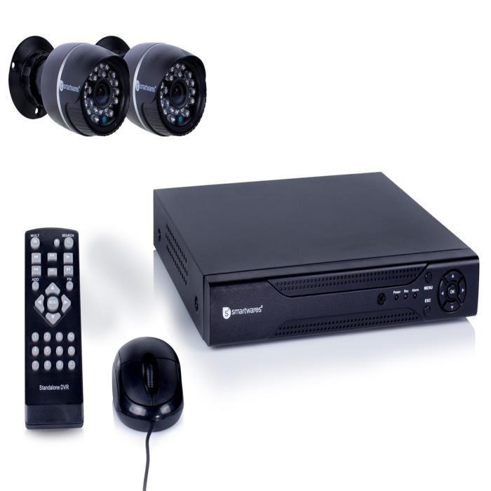 kit camera de surveillance pack videosurveillance mid. Black Bedroom Furniture Sets. Home Design Ideas