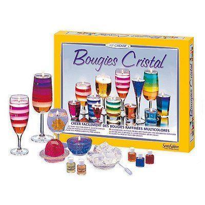 sentosphere sentosphere kit de bougies cristal 481153. Black Bedroom Furniture Sets. Home Design Ideas