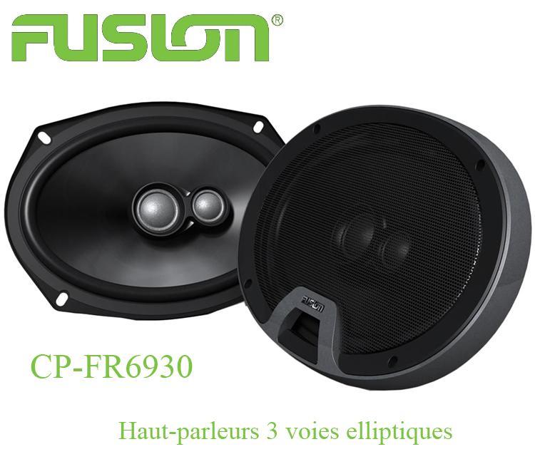 cp fr6930 2 haut parleurs 3 voies elliptiques 15x23cm 75w rms cp series 105172. Black Bedroom Furniture Sets. Home Design Ideas
