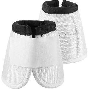 Kit Securite - Protection Horze - Cloches hautes Hamptons pour chevaux - Taille XL - Blanc
