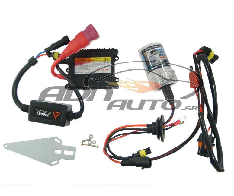 kit ampoule voiture xenon adnauto moto h7 6000k 31719. Black Bedroom Furniture Sets. Home Design Ideas
