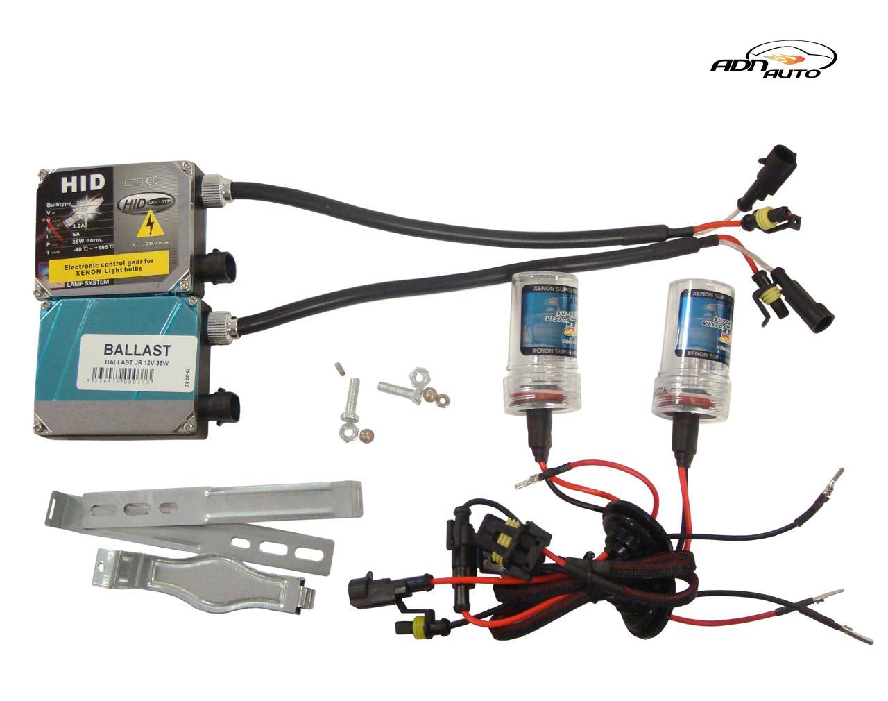 kit ampoule voiture xenon adnautomid 2 ampoules h3 6000k. Black Bedroom Furniture Sets. Home Design Ideas